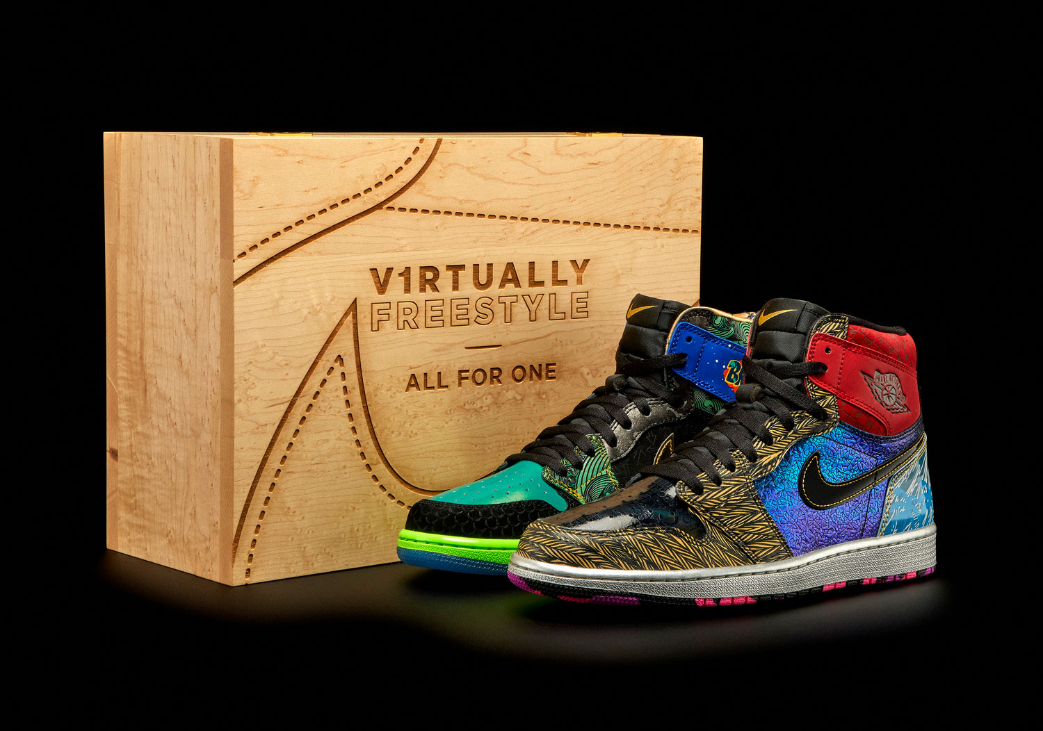 Virtually Freestyle AF1 What The Doernbecher