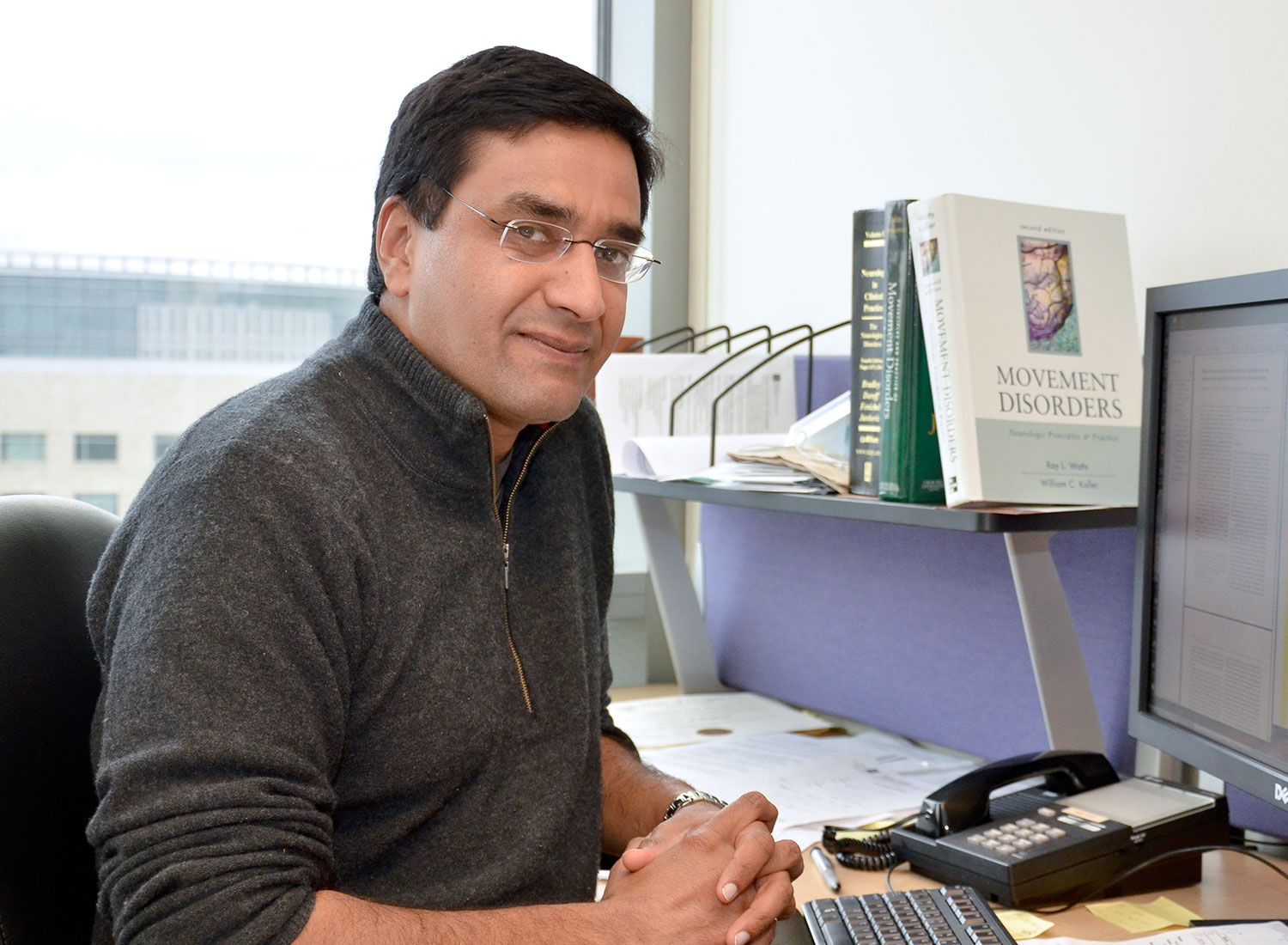 Vivek Unni Sitting In His Office