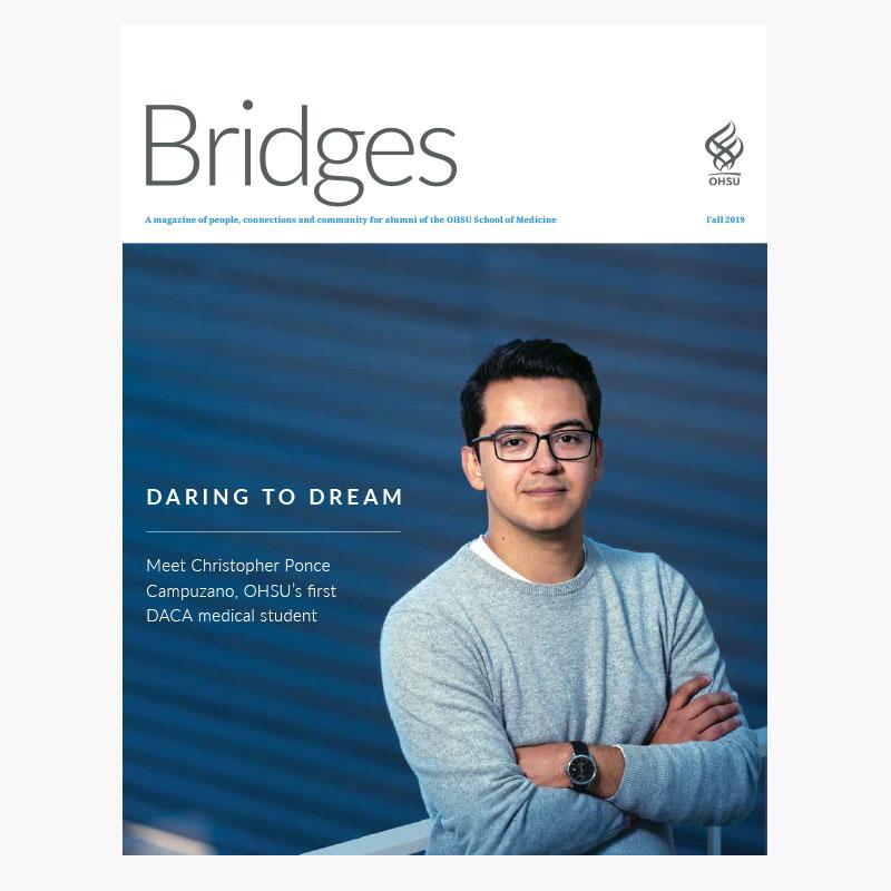 Bridges magazine Fall 2019 cover